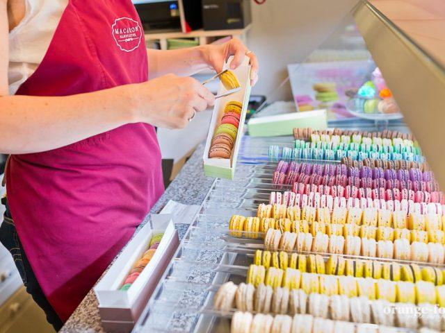 Macaronmanufaktur größte Auswahl von Macarons Niederösterreich Wien