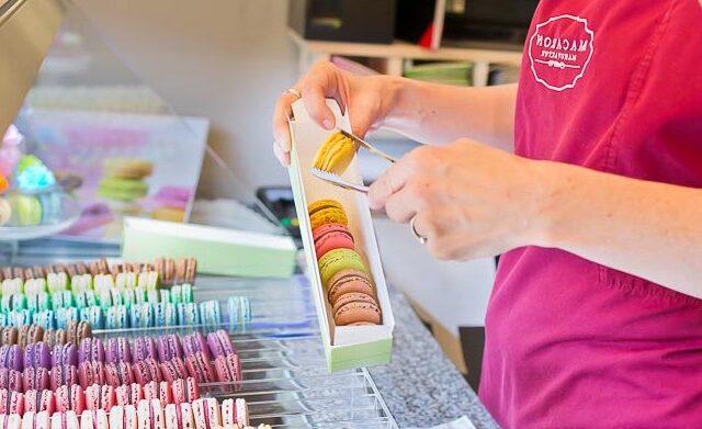 Macaronmanufaktur größte Auswahl von Macarons